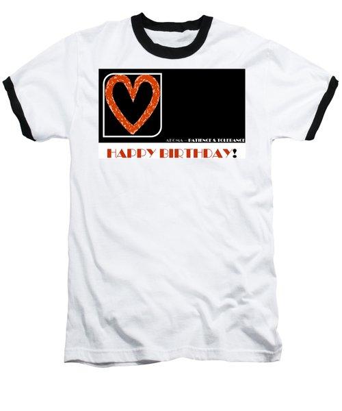 Patience Baseball T-Shirt