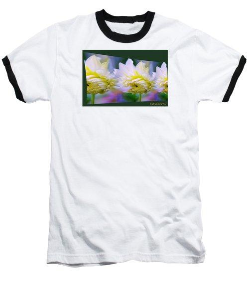 Pattern 313 _ Side Reflect Baseball T-Shirt