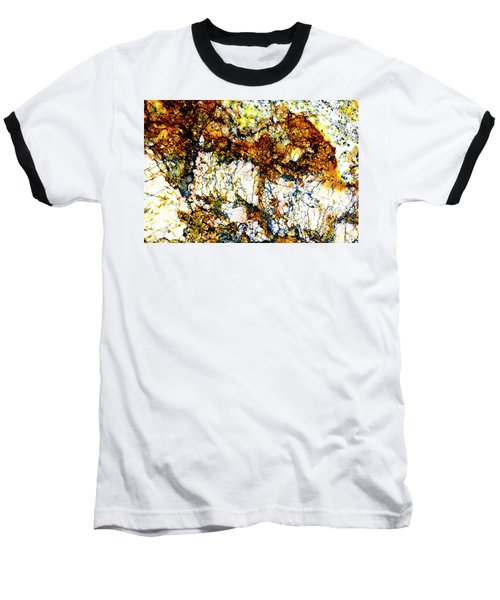 Baseball T-Shirt featuring the photograph Patterns In Stone - 210 by Paul W Faust - Impressions of Light