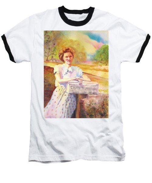 Patty Waiting For Richard Baseball T-Shirt by Tara Moorman