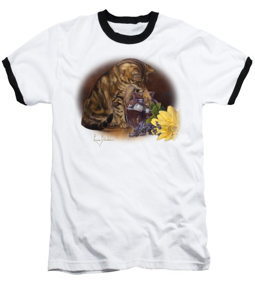 Paw In The Vase Baseball T-Shirt