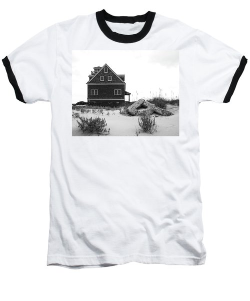 Baseball T-Shirt featuring the photograph Pea Island Station 1 by Alan Raasch