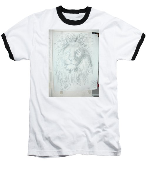Baseball T-Shirt featuring the drawing Peace In The Valley by Sharyn Winters
