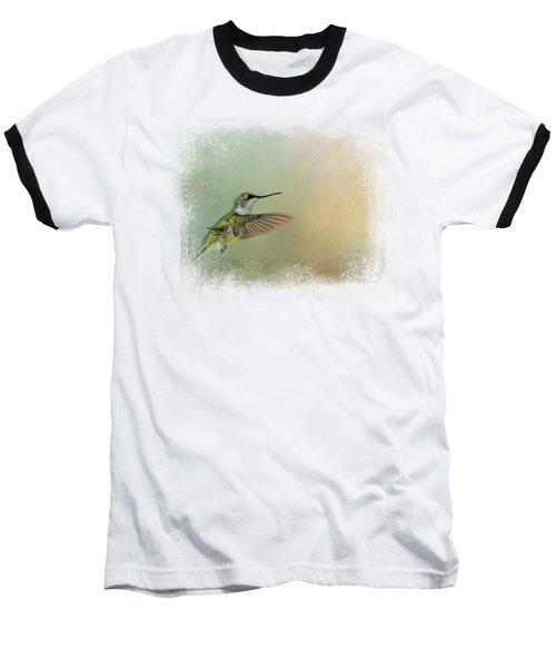 Peaceful Day With A Hummingbird Baseball T-Shirt