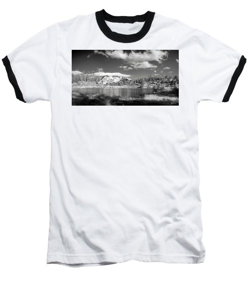 Baseball T-Shirt featuring the photograph Peaceful Lake by Jon Glaser