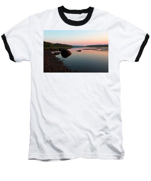 Peaceful Morning On The Hudson Baseball T-Shirt