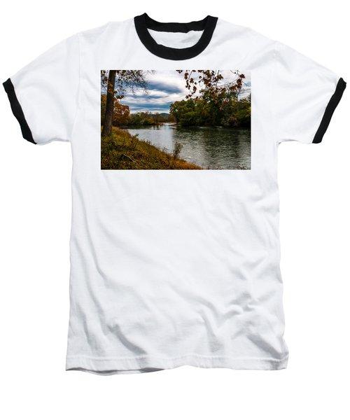 Peaceful River Baseball T-Shirt