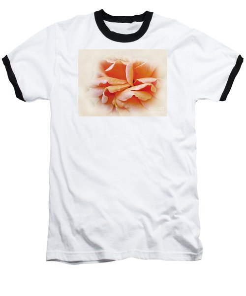 Peach Delight Baseball T-Shirt