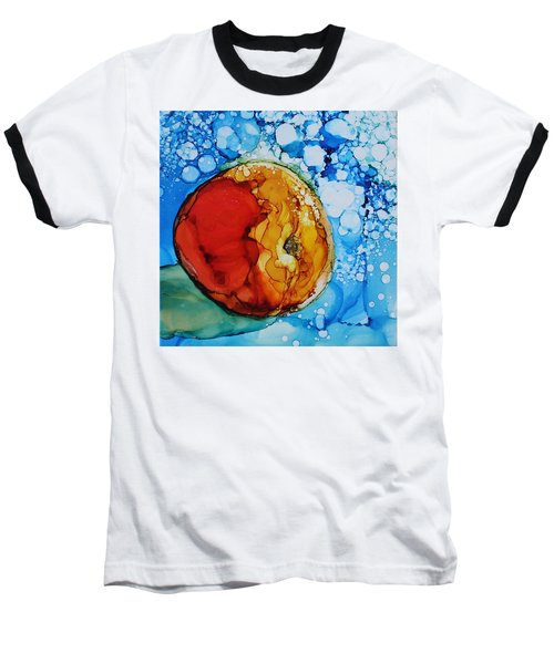 Peach Baseball T-Shirt