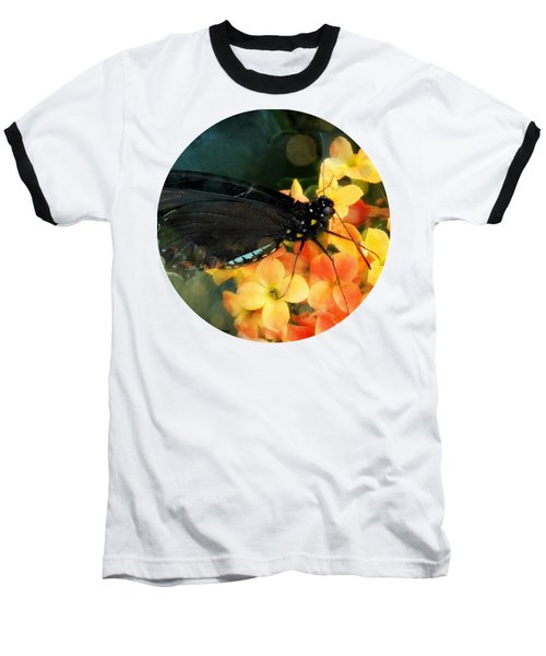 Peachy Baseball T-Shirt by Anita Faye