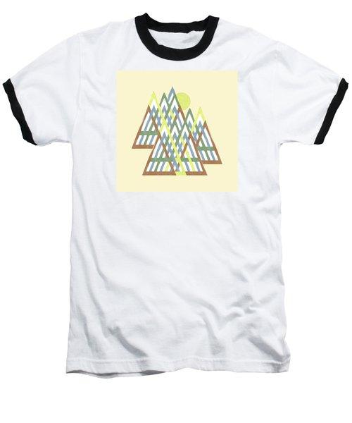 Baseball T-Shirt featuring the digital art Peak Peek by Deborah Smith