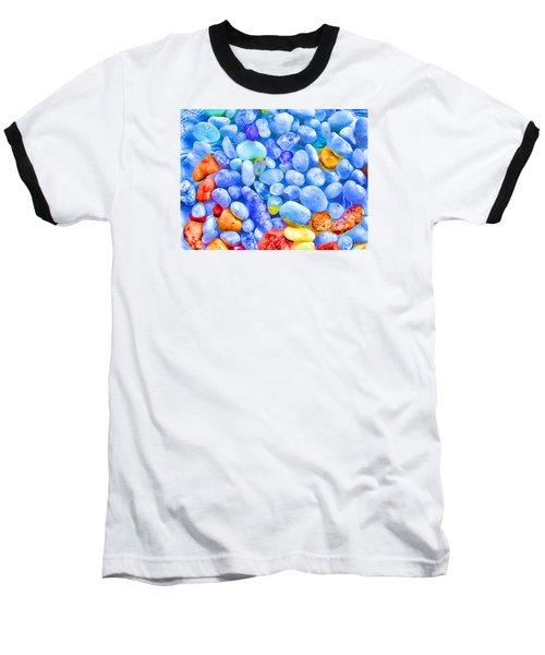 Pebble Delight Baseball T-Shirt by Andreas Thust