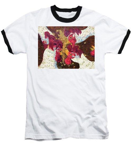 Pecking Order Baseball T-Shirt