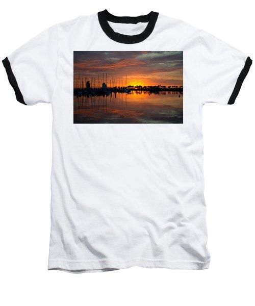 Peeking Sun Baseball T-Shirt