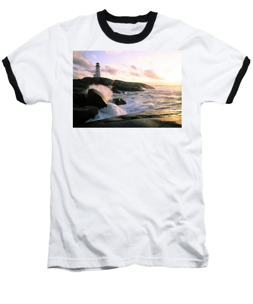 Peggy's Point Lighthouse, Canada, Nova Scotia, Peggy's Cove Baseball T-Shirt