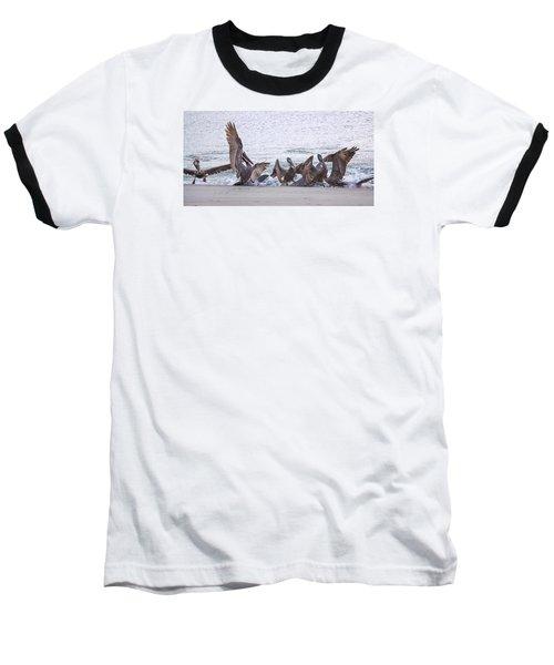 Pelican Brunch Baseball T-Shirt