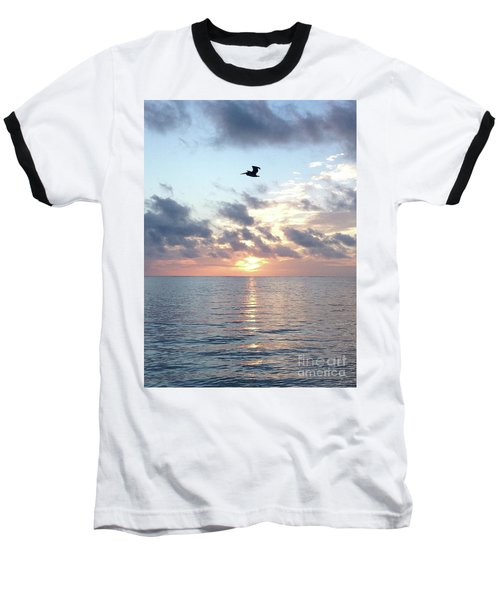 Pelican Dawn Baseball T-Shirt