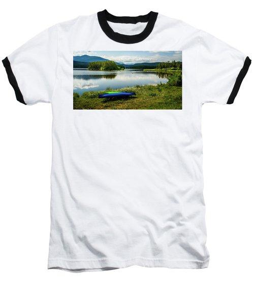 Pelicans At Shadow Mountain Lake Baseball T-Shirt