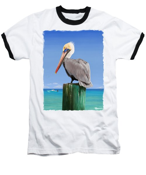 Pelicans Post Baseball T-Shirt