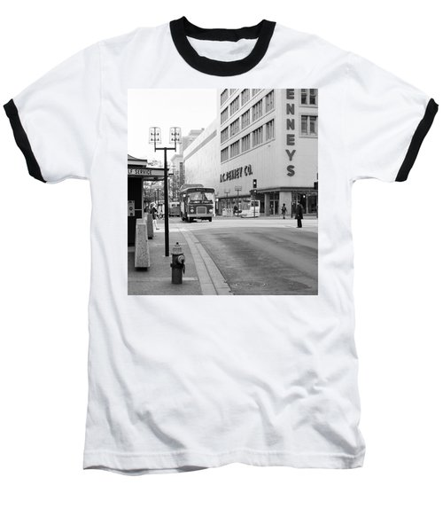 Penney's On The Mall Baseball T-Shirt