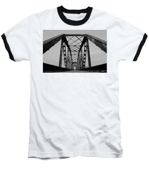 Pennsylvania Steel Co. Railroad Bridge Baseball T-Shirt