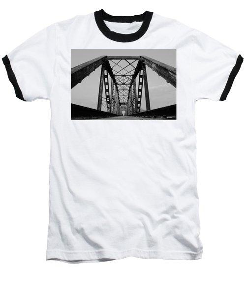 Pennsylvania Steel Co. Railroad Bridge Baseball T-Shirt