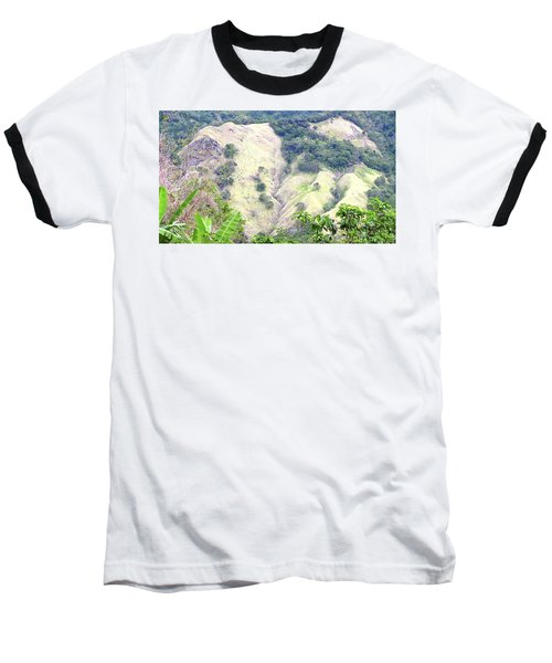 Penuelas, Puerto Rico Mountains Baseball T-Shirt