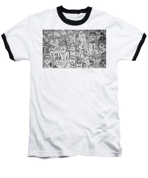 People People People Baseball T-Shirt
