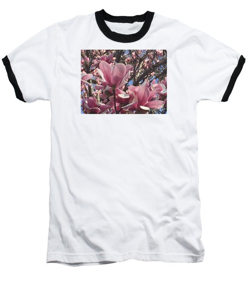 Perfect Pink Petals Baseball T-Shirt