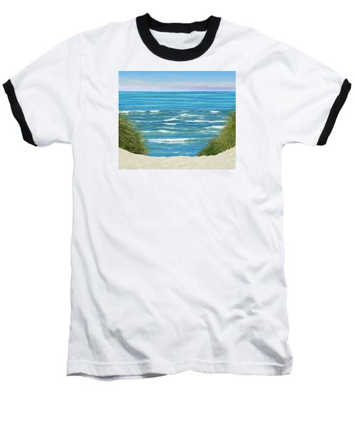 Baseball T-Shirt featuring the photograph Perfect Seas by Adria Trail