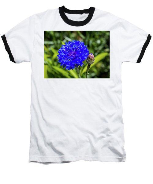 Perky Cornflower Baseball T-Shirt