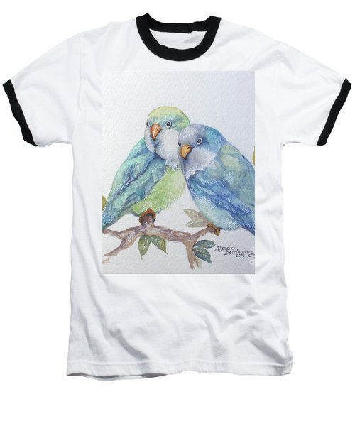 Pete And Repete Baseball T-Shirt by Marcia Baldwin