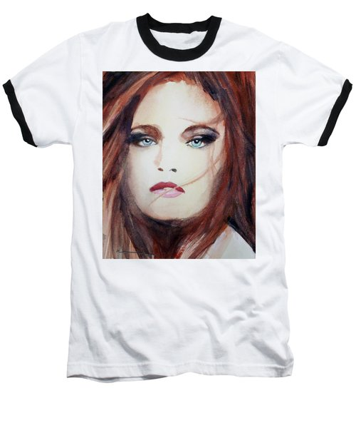 Baseball T-Shirt featuring the painting Petra by Ed Heaton
