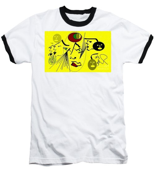 Phantom Of A Seeker Baseball T-Shirt