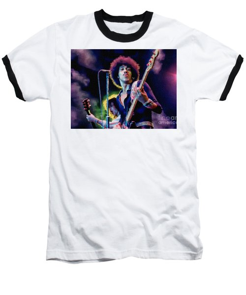 Phil Lynott - Thin Lizzy Baseball T-Shirt