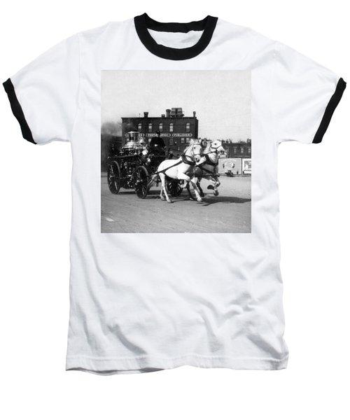 Philadelphia Fire Department Engine - C 1905 Baseball T-Shirt