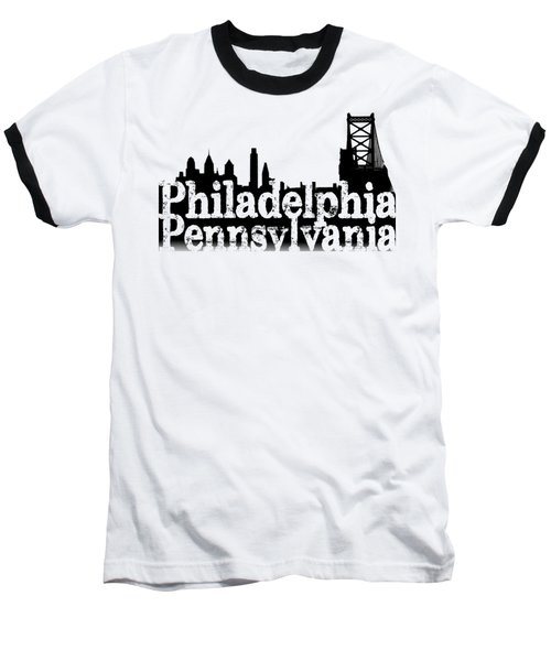 Philadelphia Pennsylvania Baseball T-Shirt by Christopher Woods