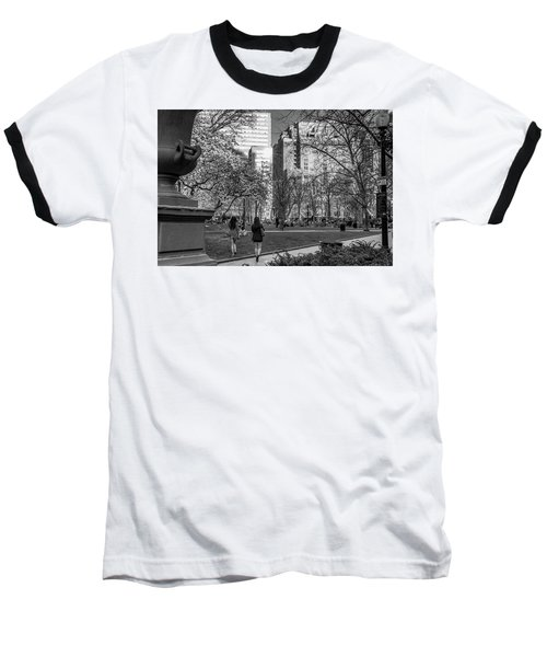 Philadelphia Street Photography - 0902 Baseball T-Shirt by David Sutton