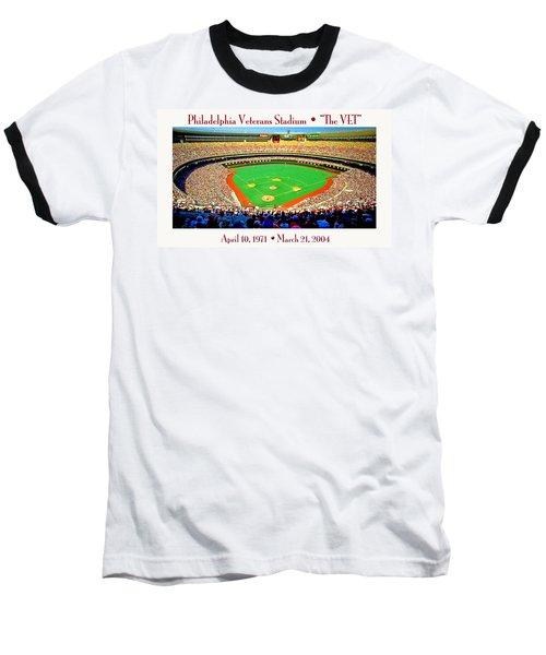 Philadelphia Veterans Stadium The Vet Baseball T-Shirt