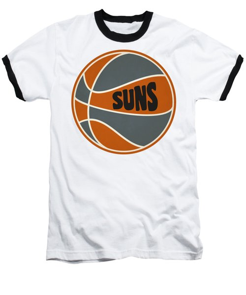 Phoenix Suns Retro Shirt Baseball T-Shirt by Joe Hamilton