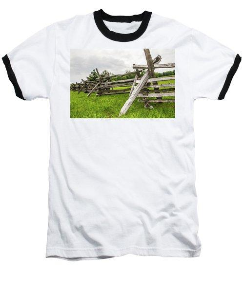 Picket Fence Baseball T-Shirt