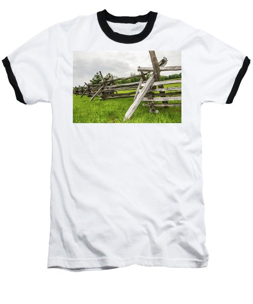 Picket Fence Baseball T-Shirt