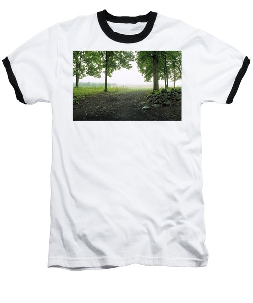 Pickett's Charge Baseball T-Shirt by Jan W Faul