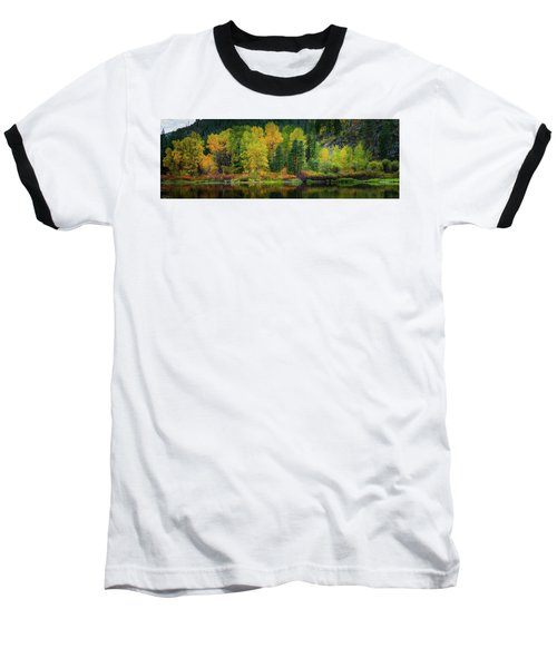 Picturesque Tumwater Canyon Baseball T-Shirt