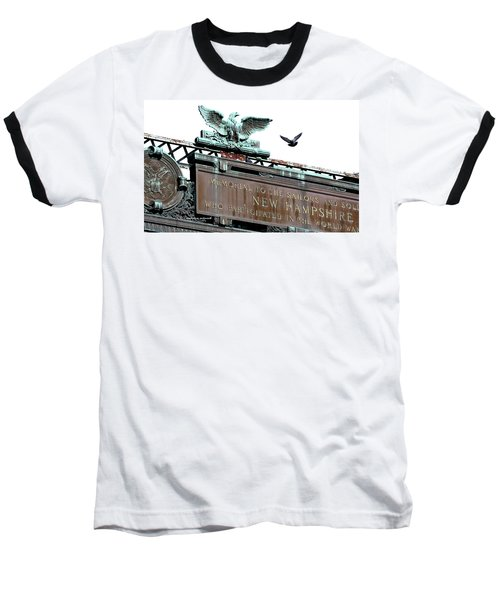 Pidgeon Intrusion Baseball T-Shirt