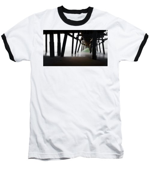 Baseball T-Shirt featuring the photograph Pier Pressure by Sean Foster