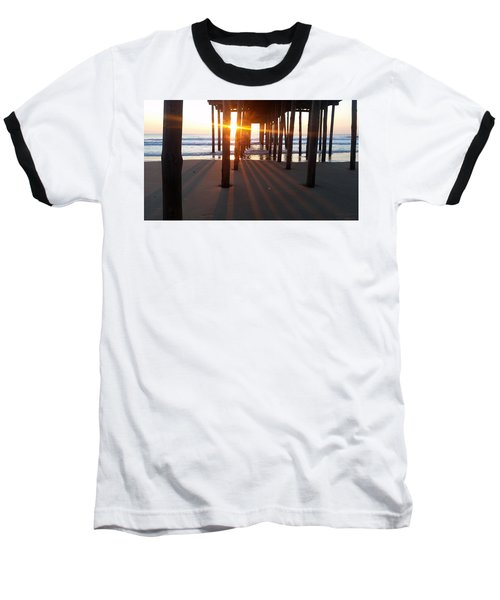 Pier Shadows Baseball T-Shirt