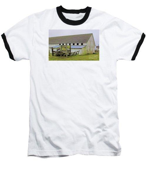 Pierce Pt. Ranch Barn Baseball T-Shirt