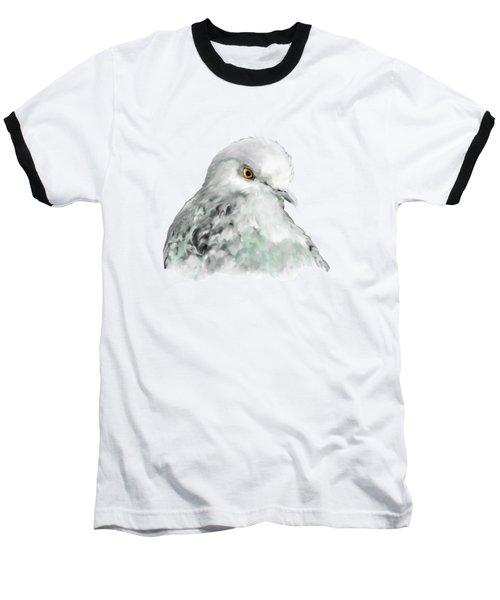 Pigeon Baseball T-Shirt by Bamalam  Photography