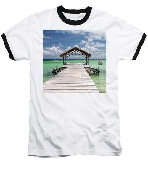 Pigeon Point, Tobago#pigeonpoint Baseball T-Shirt